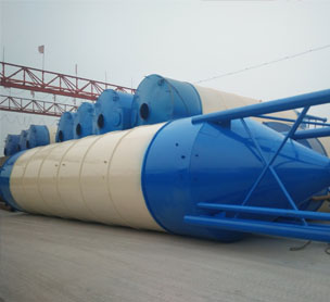 河南宏海机械50吨水泥仓-80吨水泥罐的设备照片