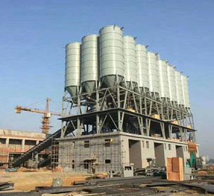 宏海机械杭州240混凝土搅拌站的照片