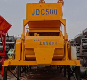 河南宏海机械JDC500混凝土搅拌机的设备照片