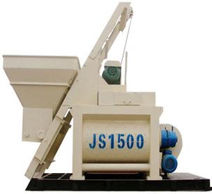 河南宏海机械JS1500强制式搅拌机的设备照片