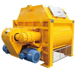 河南宏海机械JS3000双卧轴强制式搅拌机的设备照片