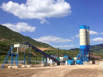 河南宏海机械WBZ300吨稳定土拌合站的设备照片