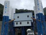 HZS180商品混凝土搅拌站